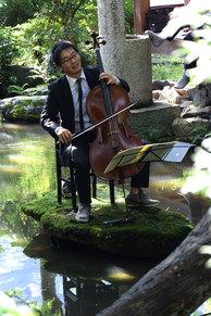 金子鈴太郎(チェロ)