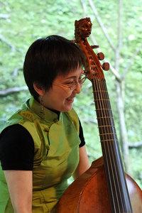 ヴィオラ・ダ・ガンバ奏者の大西万喜さん