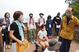 佐久間新の琵琶湖を身体で感じるワークショップ
