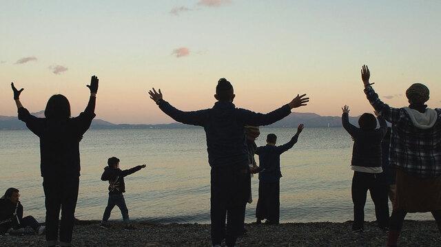 佐久間新の琵琶湖を身体で感じるワークショップⅡ